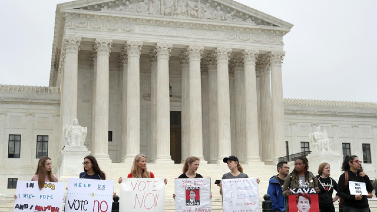 Senate votes on Kavanaugh's SCOTUS nomination
