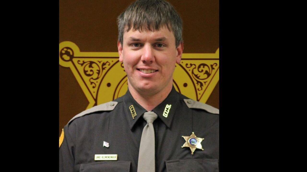 Gallatin County Sheriff's Deputy Jake Allmendinger
