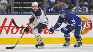 Sabres recall AHL leading-scorer Lawrence Pilut