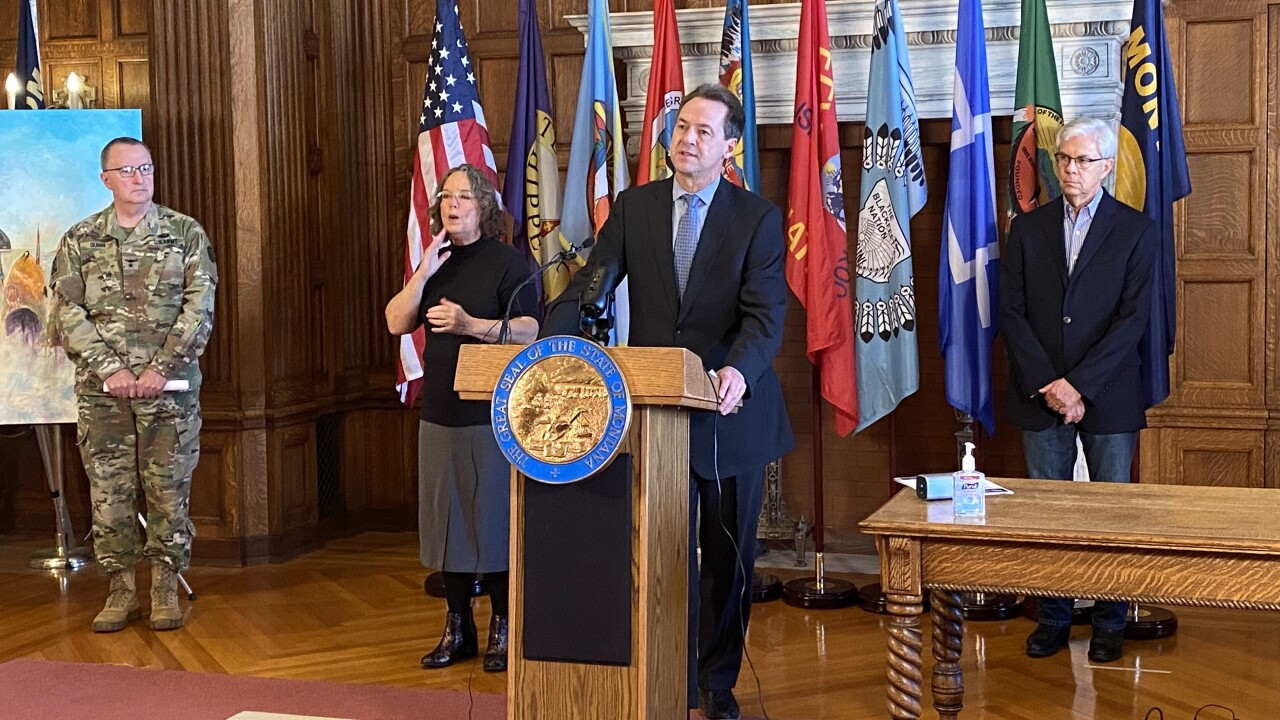 LIVE: Governor Bullock to announce new measures to control spread of COVID-19