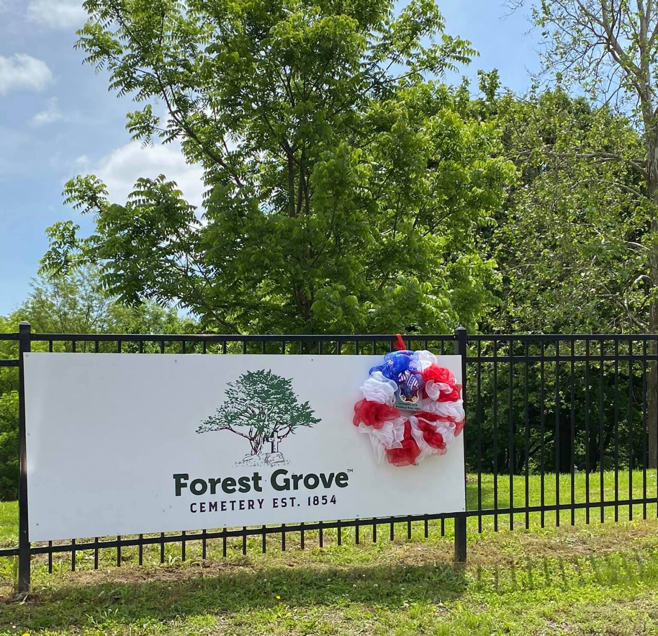 Forest Grove Cemetery new sign.jpeg