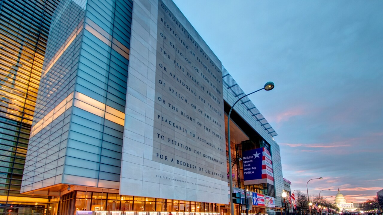 Newseum in D.C. closing at end of year due to financial struggles