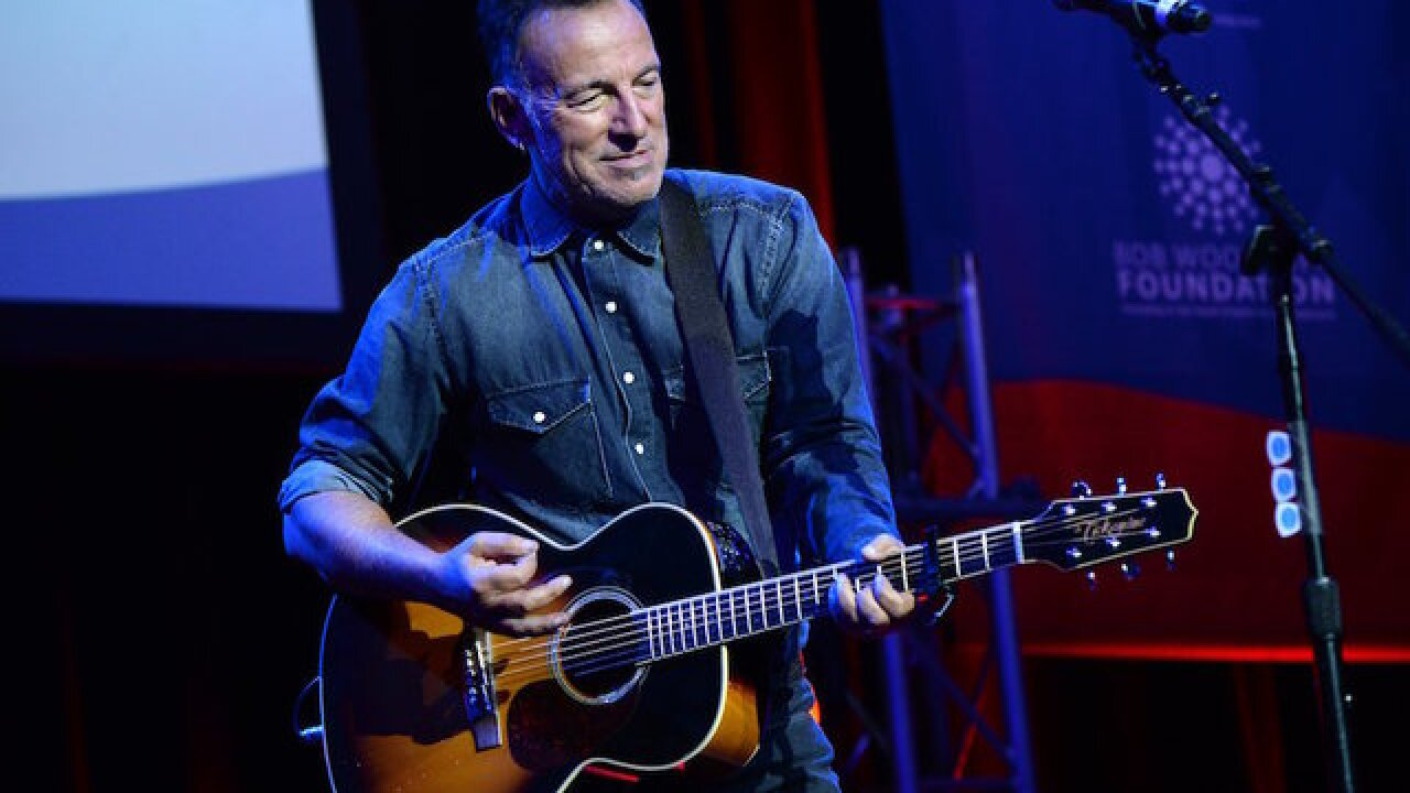 Bruce Springsteen's one-man show is coming to Netflix