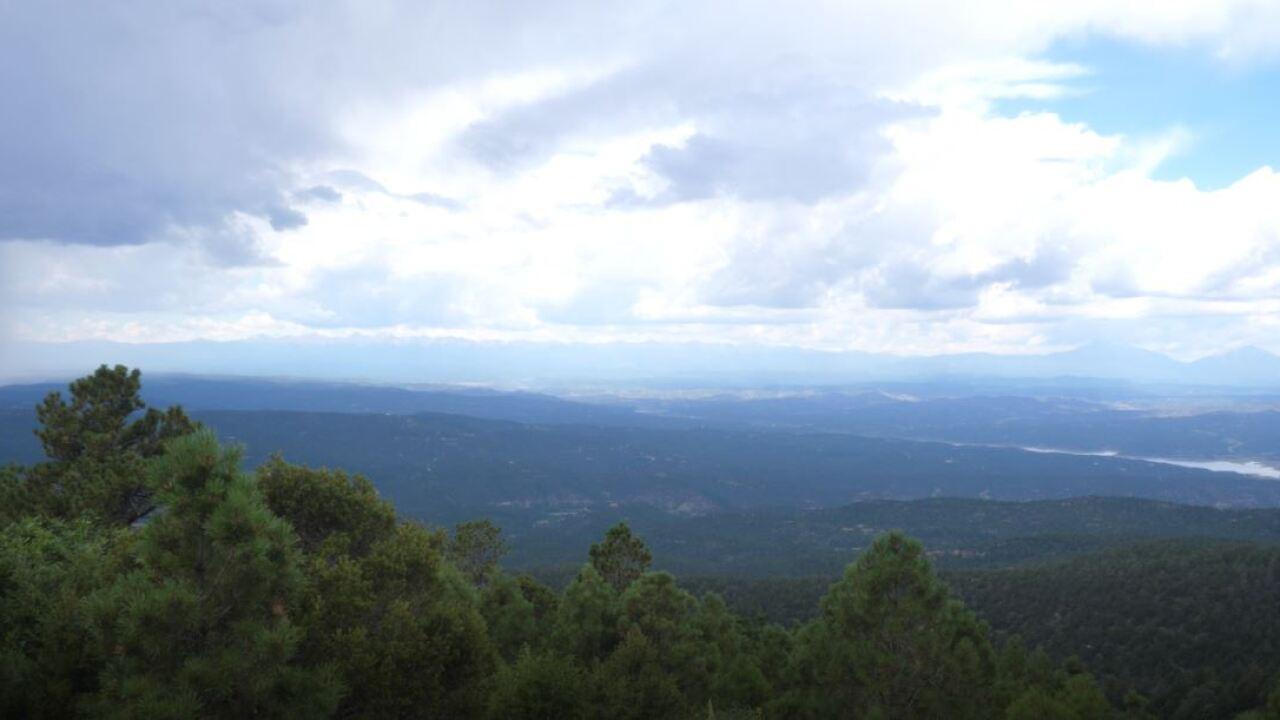 Fishers Peak views