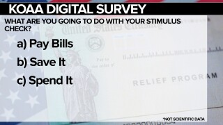 KOAA Survey: What are you going to do with your stimulus check?