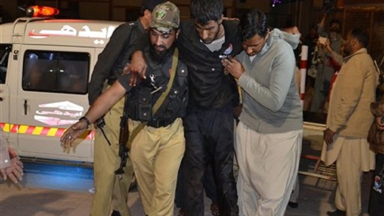 Dozens police trainees killed in Pakistan attack, officials say
