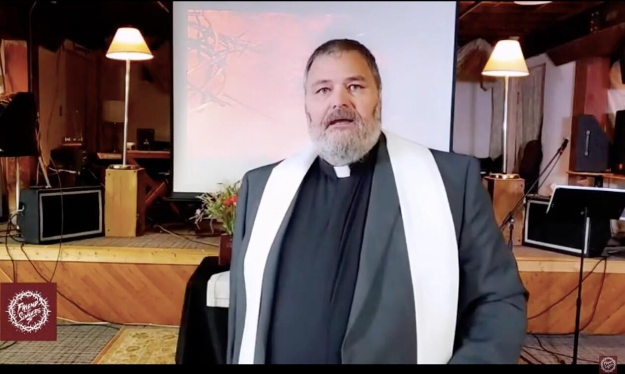 Pastor Daniel Quakkelaar, a Presbyterian minister