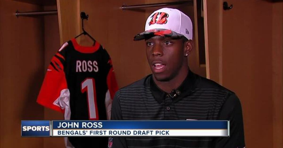 new product 2a18d 26342 The Broo View: Bengals got excitement with John Ross, but ...