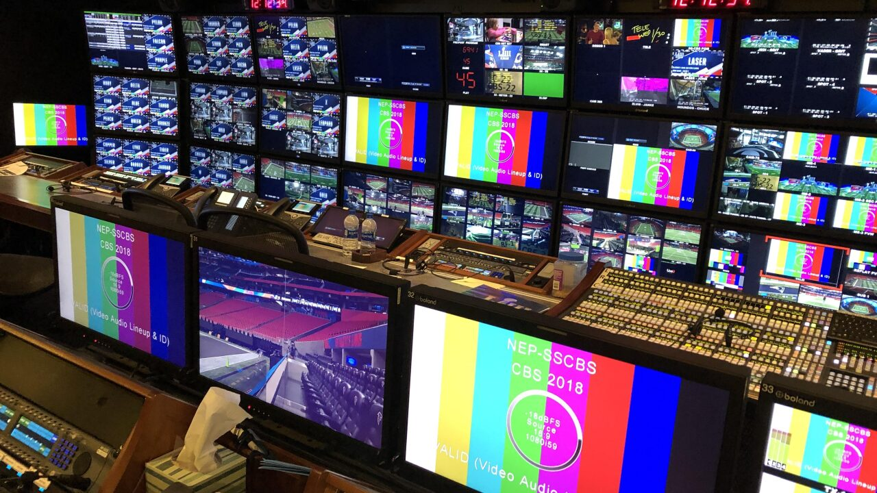 Seen behind the scenes: News 3 given rare access to CBS Super Bowlcompound