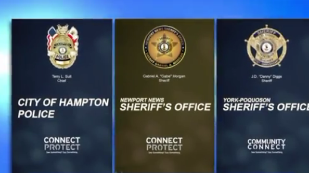 City of Hampton, Peninsula law enforcement announce new crime-fighting technology