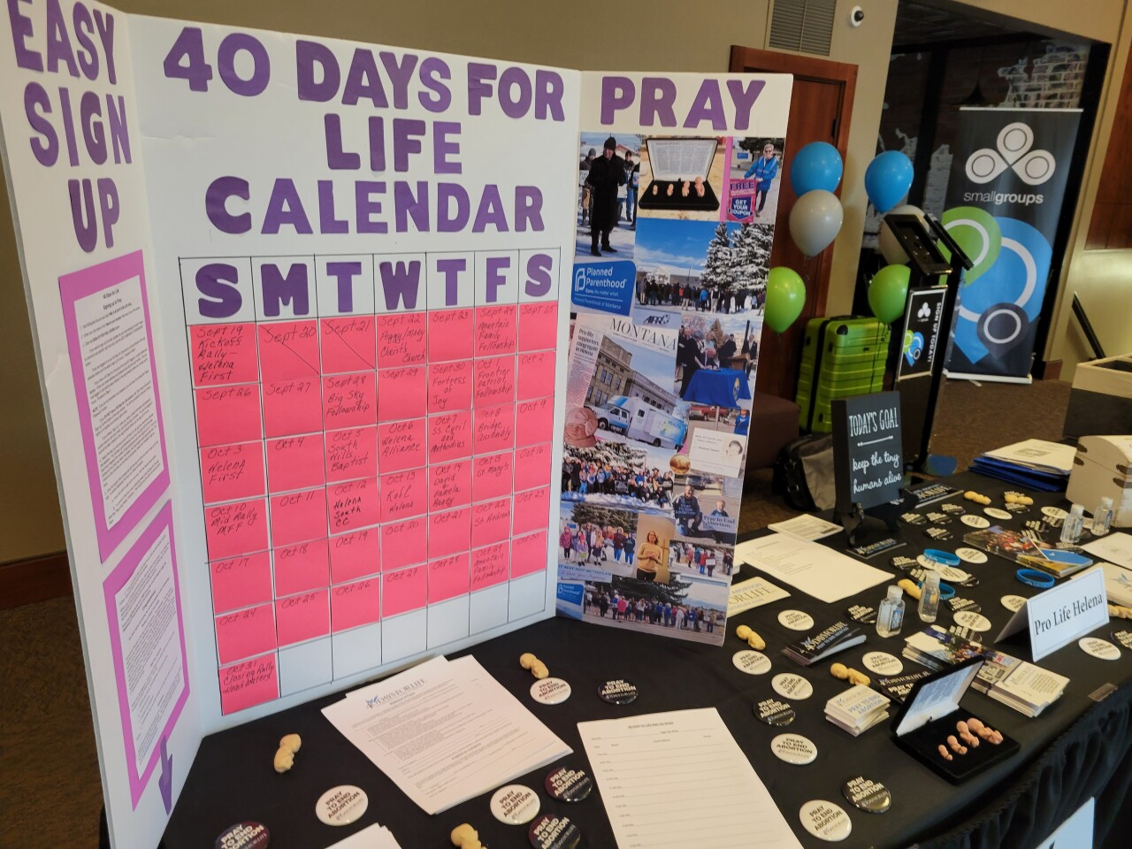 40 Days for Life Kick-Off in Helena