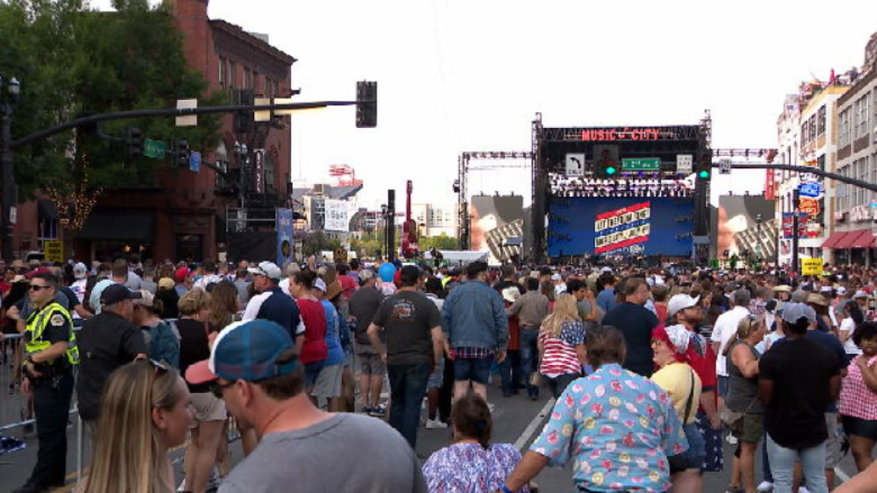 """Organizers """"couldn't be happier"""" following Nashville July 4th celebration"""
