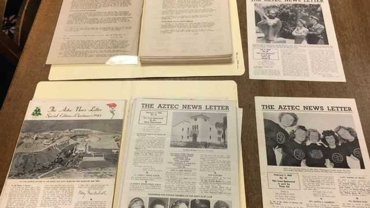 New book focuses on SDSU Students' WWII letters