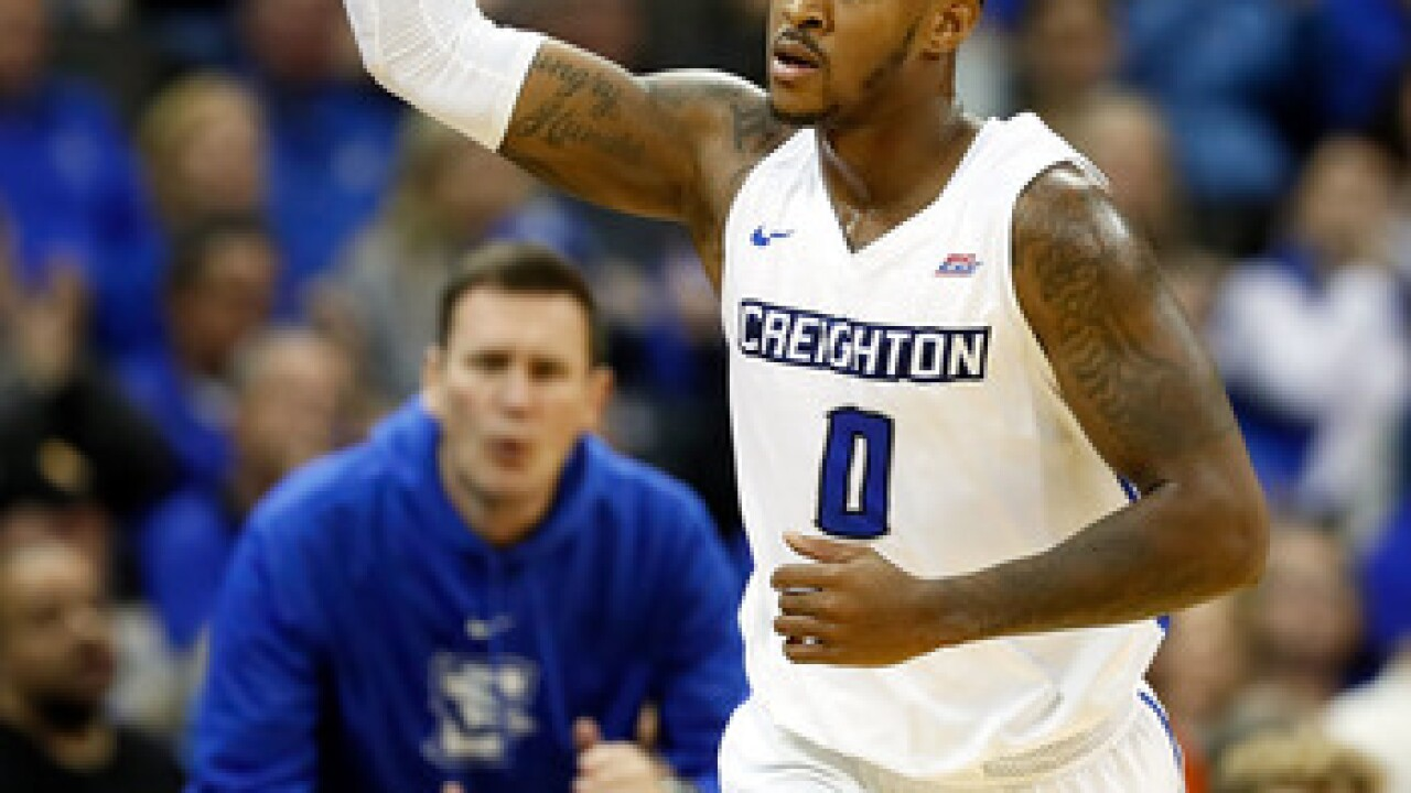 Marcus Foster hits game-winning three pointer as Creighton survives against DePaul