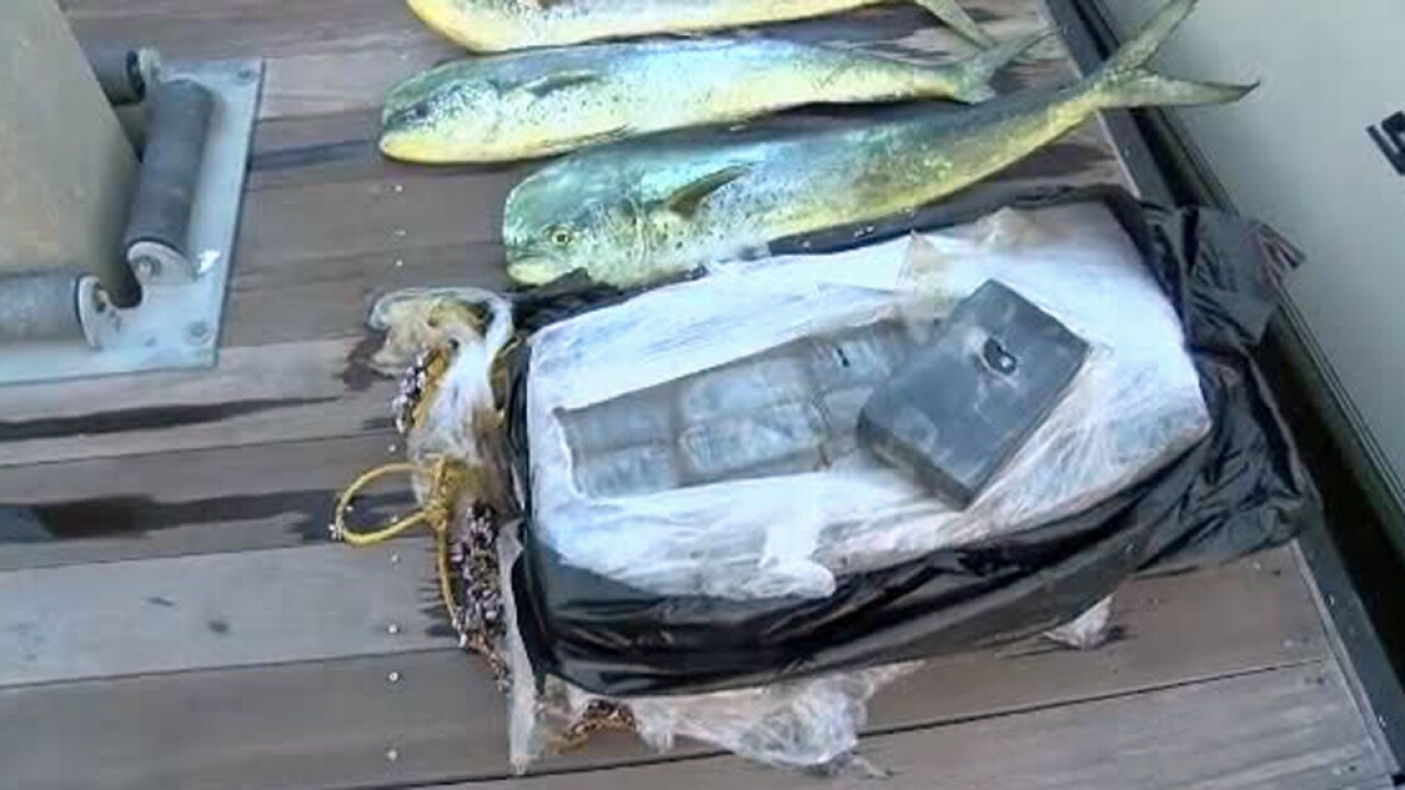 Fishermen in South Carolina reel in $1 million in cocaine