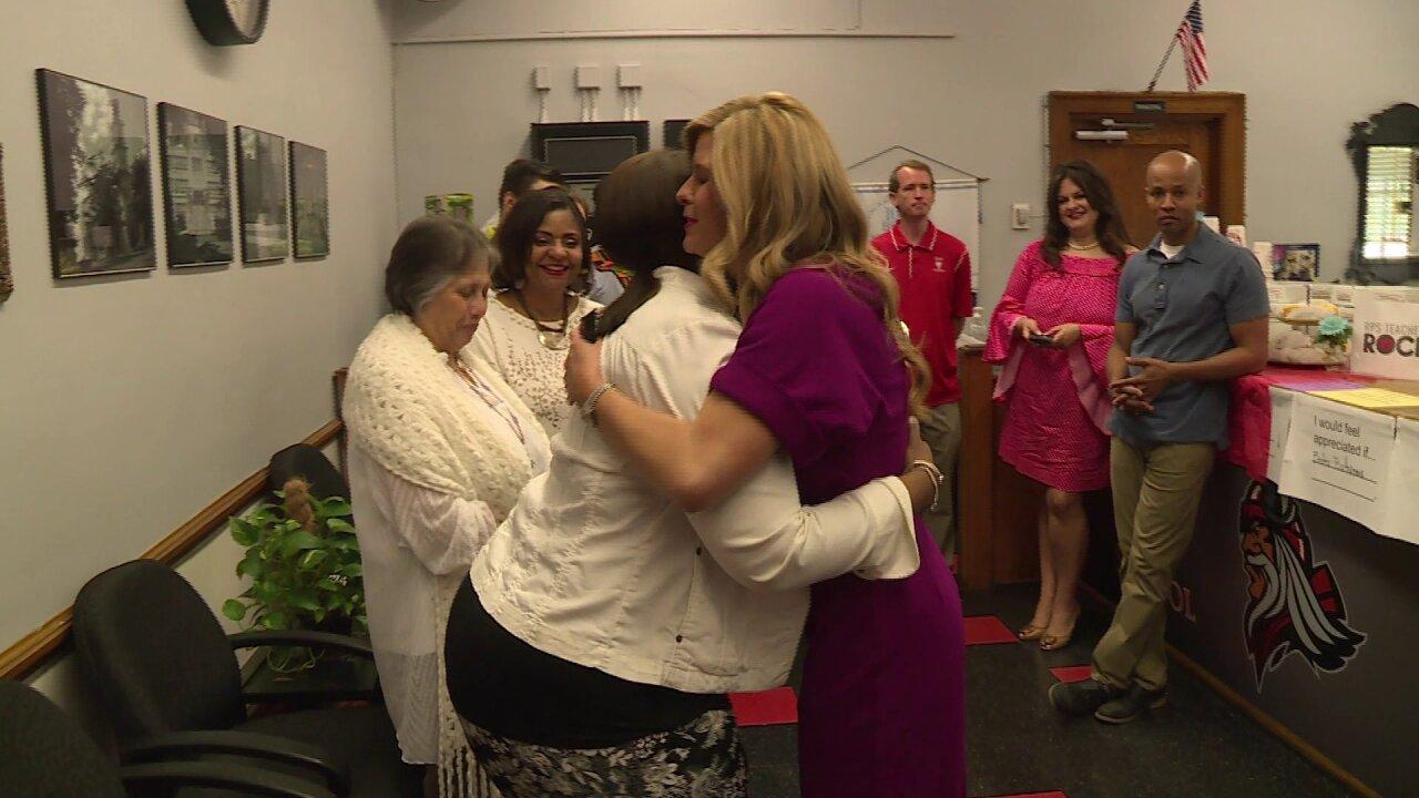 Nikki-Dee Ray celebrates Richmond teachers for their hardwork