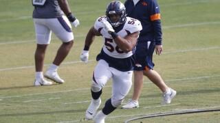 Broncos trade Christian Covington to Bengals for LB Austin Calitro