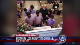 Houston Brothers lose parents to COVID-19