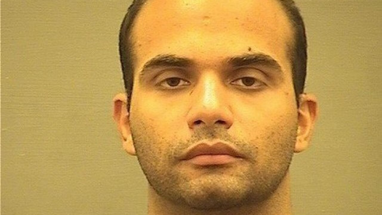 George Papadopoulos asks for leniency ahead of sentencing