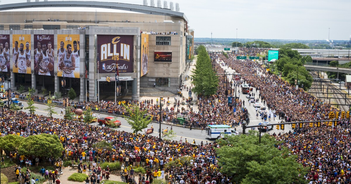 It's been 3 years since the Cavs championship parade, but it feels like yesterday