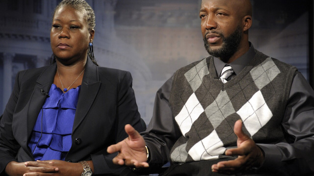Trayvon Martin's parents to release a book on son's life, death