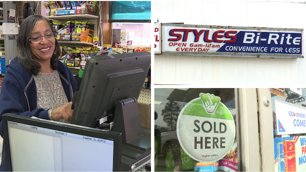 Why this Styles Bi-Rite cashier is known as Lady Luck to those who play the lottery