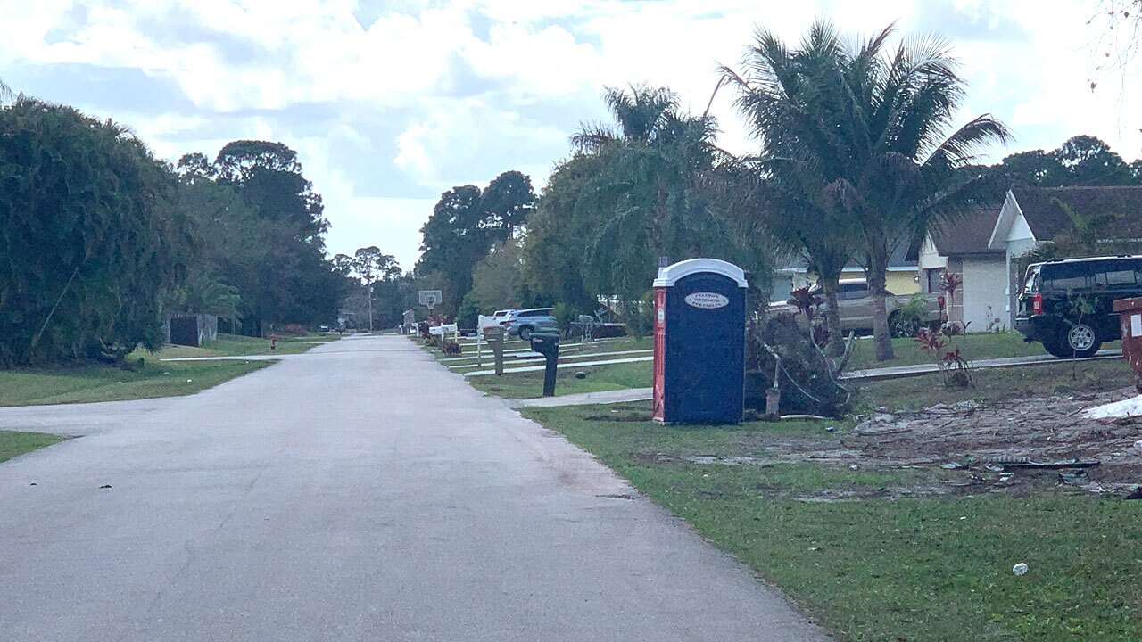 Port St. Lucie police say a child died at a home along Nutley Street on Feb. 10, 2021.