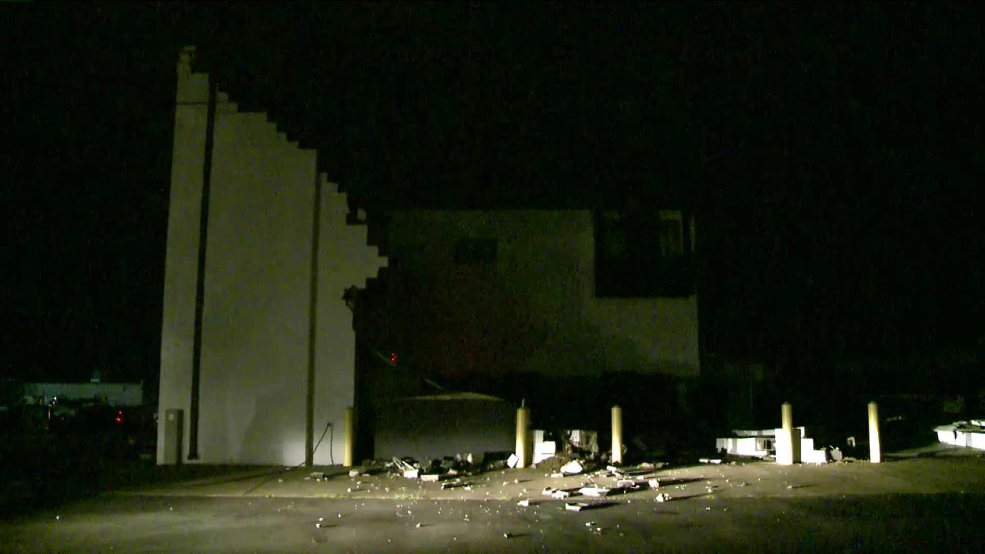 Photos: Severe winds hit Spotsylvania, collapse twobuildings