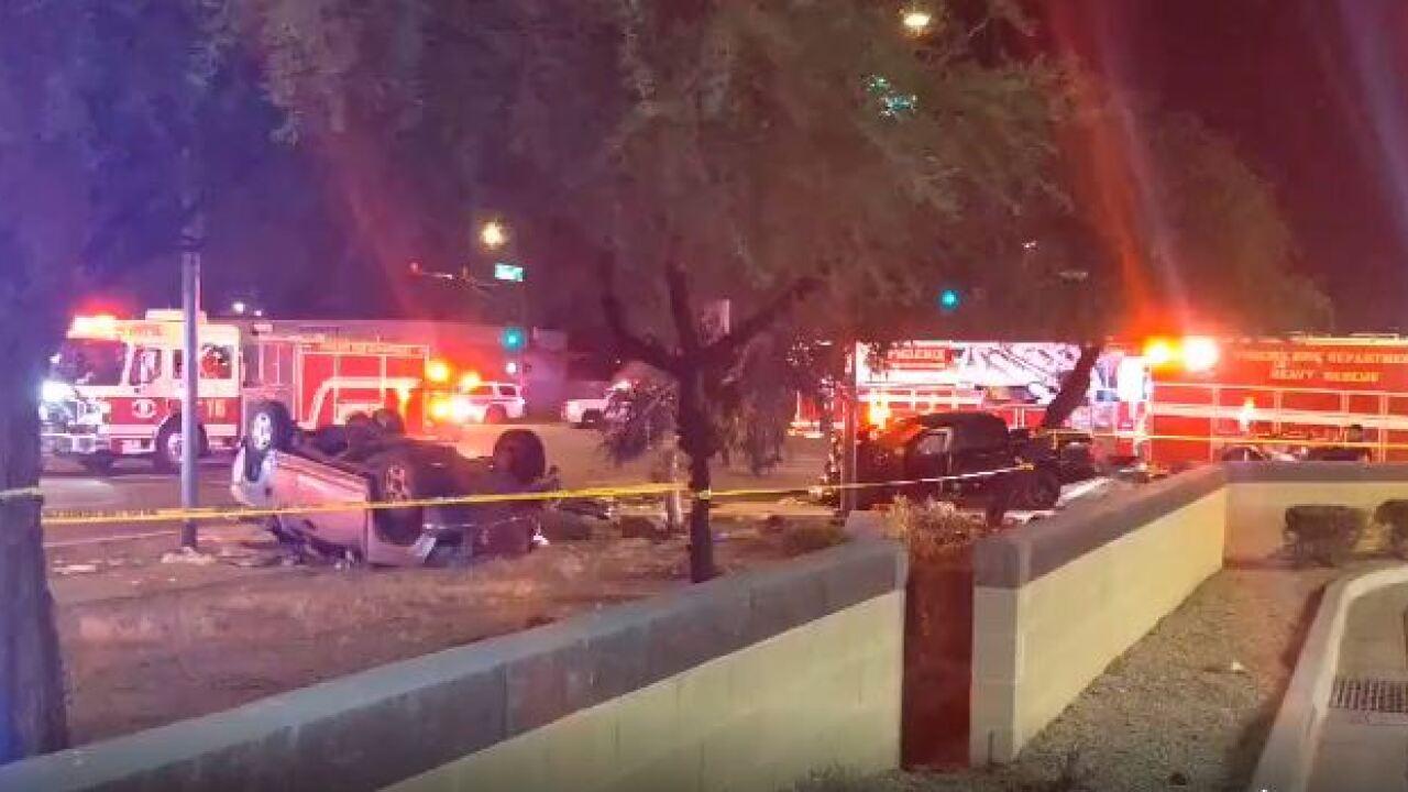 7th St/Buckeye Road crash