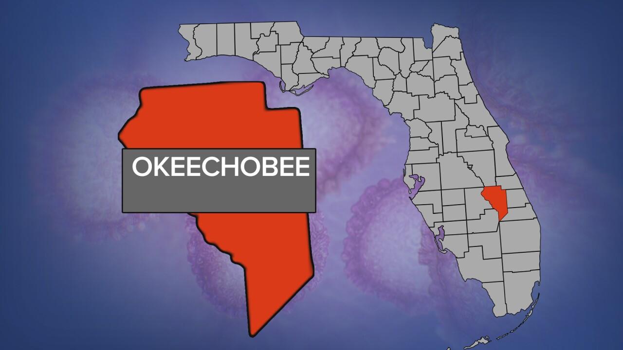 Okeechobee County coronavirus map