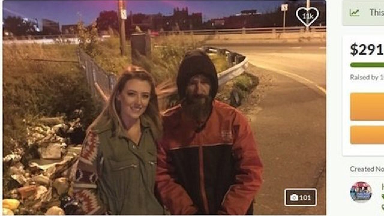 GoFundMe says homeless veteran will receive full $400K
