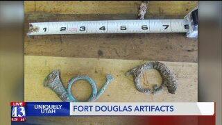 Uniquely Utah: Artifacts dug up from Fort Douglas