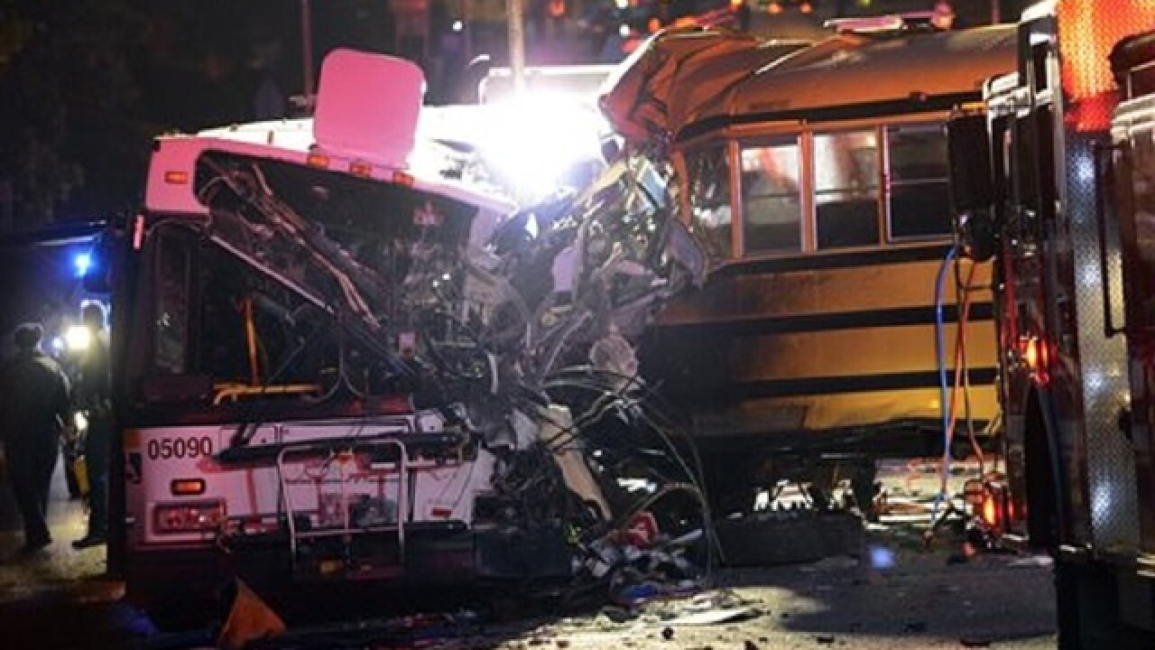 Autopsy, survivor, recording may help explain crash involving 2 buses