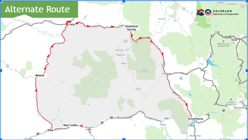 Map around I-70 mudslide_June 27 2021