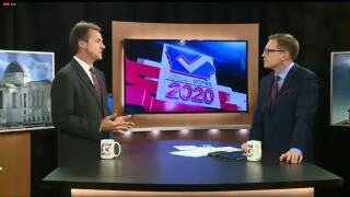 Bullock talks southern border, climate change in Iowa town hall