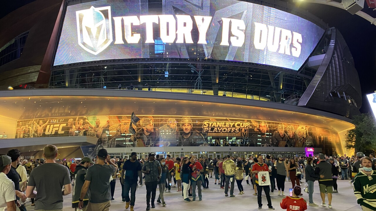 The Vegas Golden Knights beat the Minnesota Wild on Friday to progress to the second round of the Stanley Cup Playoffs.