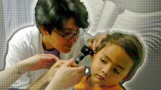 sick children generic graphic image