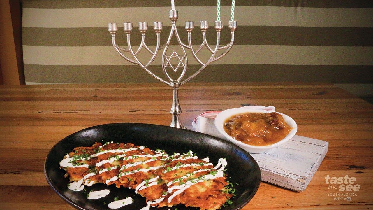 Avocado Grill's Hanukkah Latkes