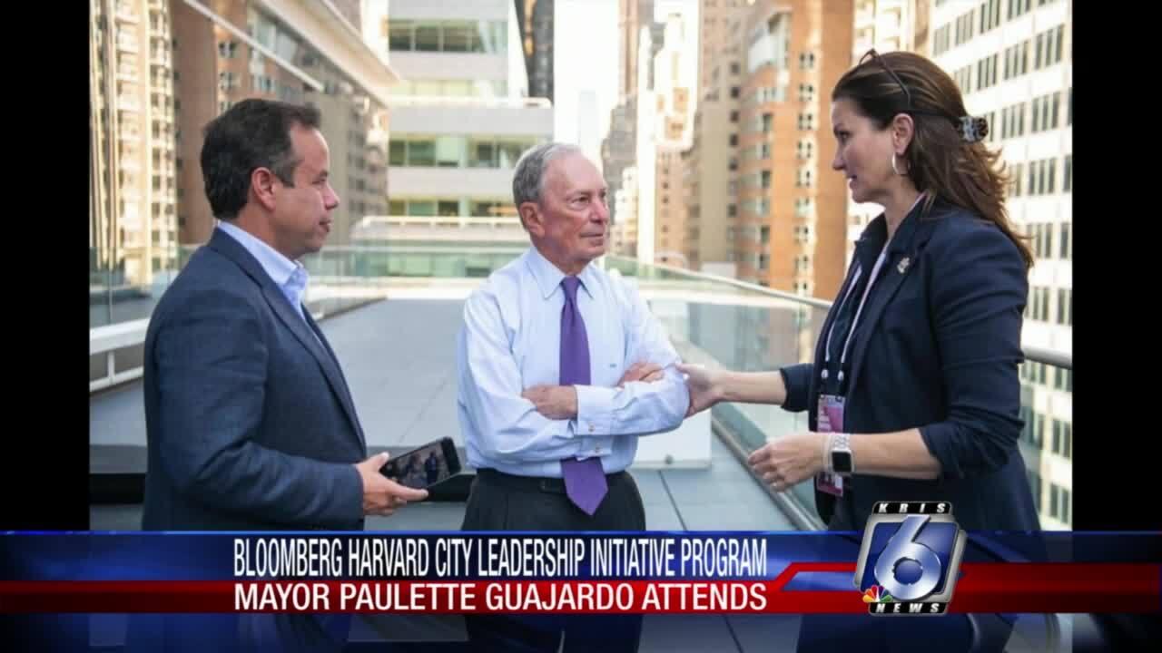 Corpus Christi Mayor Paulette Guajardo is participating in the Bloomberg Harvard City Leadership Initiative Program