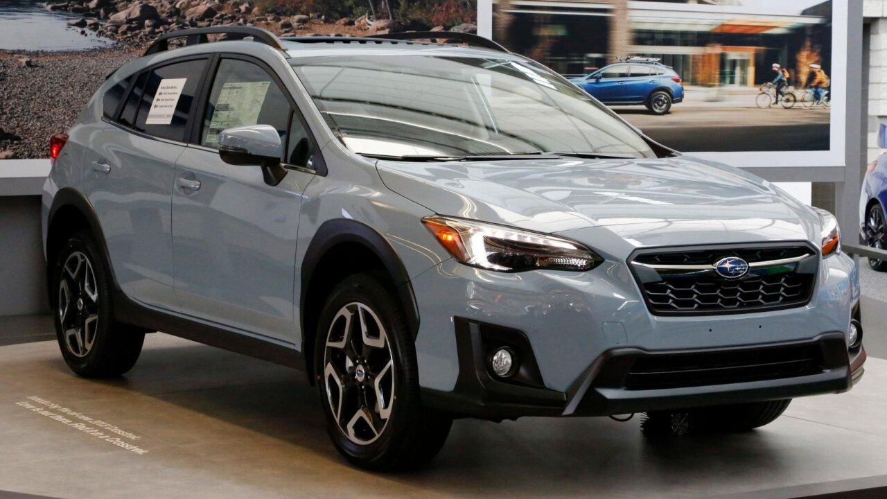 Subaru is recalling more than 400,000 Crosstreks and Imprezas