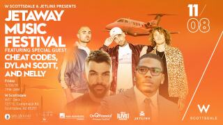 Nelly, Cheat Codes & Dylan Scott will perform at Music Festival in Scottsdale