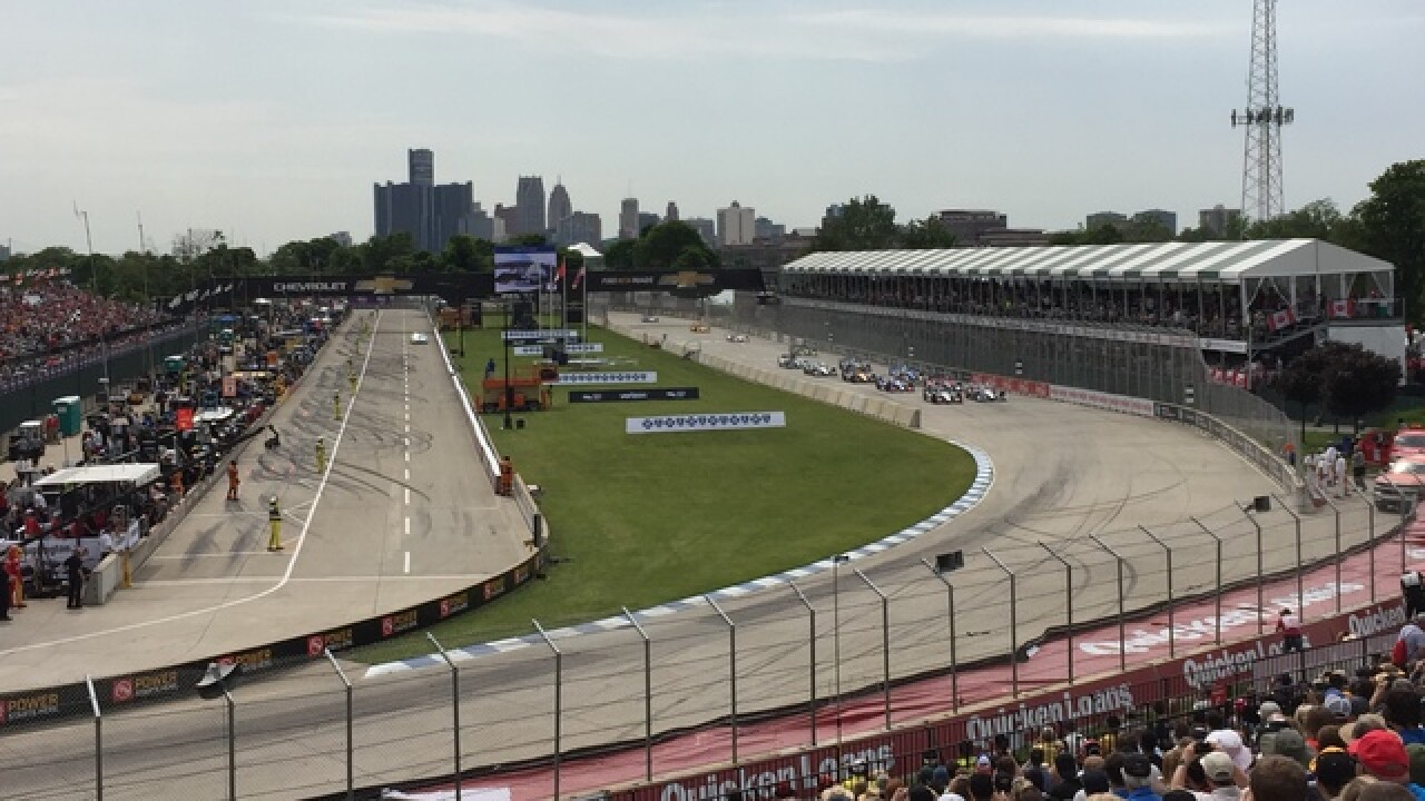 DNR moves forward with plan to keep Detroit Grand Prix on Belle Isle with some changes