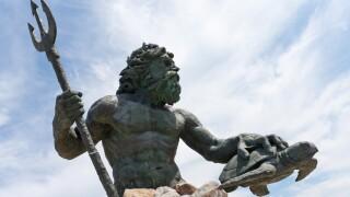 Virginia Beach Netpune Statue