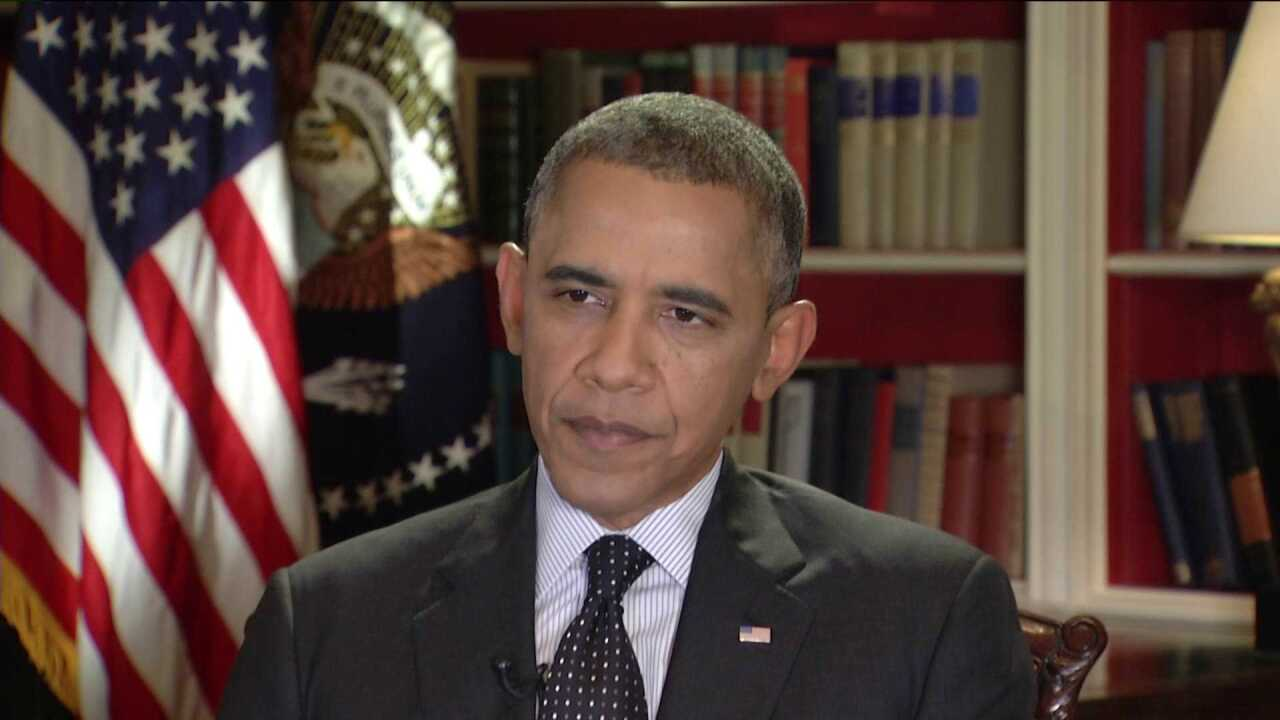 CBS 6 questions Obama on Commonwealth's woes as shutdown enters second week
