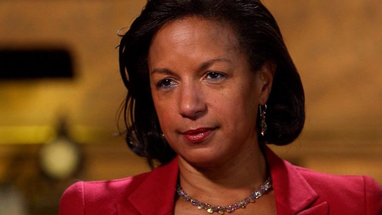Susan Rice: 'Absolutely false' that Obama played politics with intel