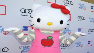 Say what? Hello Kitty is not a cat, it's a British third grader