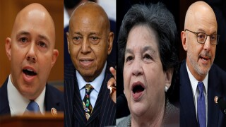 Brian Mast, Alcee Hastings, Lois Frankel and Ted Deutch, congressional candidates