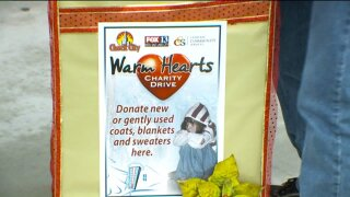 Warm Hearts Coat Drive helps those in need get equipped for winter weather