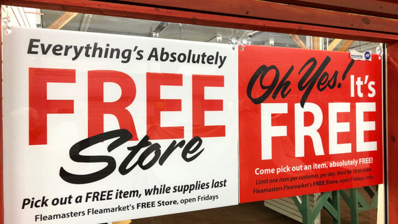 Fleamasters' Friday Free Store is first of its kind in Southwest Florida