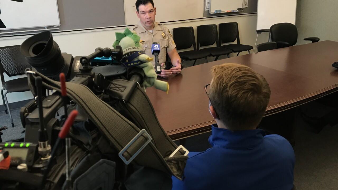 Sgt. Brad Cupp is with the Technical Operations Section within the Las Vegas Metropolitan Police Department and oversees the unmanned aerial systems program.